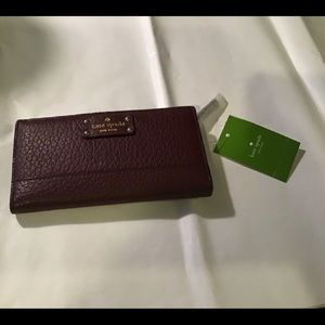 Kate Spade NWT Bay Street Stacy Mulled Wine